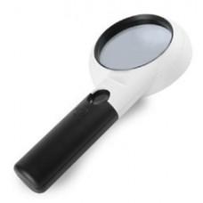 Лупа Kromatech ручная круглая 5/20x, 75/21 мм, с подсветкой (11 LED) CH75-10L