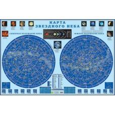 Карта звездного неба, настенная