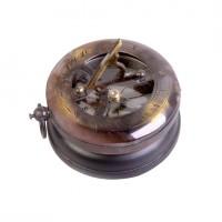 """Компас """"солнечные часы"""" на деревянной базе"""