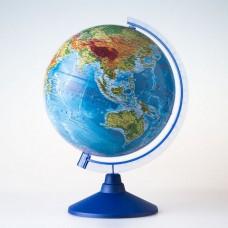 Глобус физический 250 мм с подсветкой
