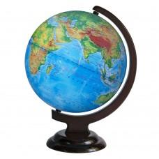 Глобус физический 250 мм на деревянной подставке