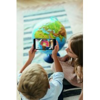 Интерактивный глобус Globen d=25 см с подсветкой от сети
