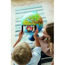 Интерактивный глобус Globen d=25 см с подсветкой от сети купить в Иркутске