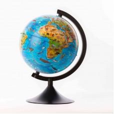 Глобус Земли зоогеографический  210 мм