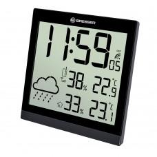 Метеостанция (настенные часы) Bresser TemeoTrend JC LCD с радиоуправлением